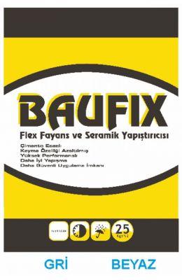 BAUFIX FLEX FAYANS VE SERAMİK YAPIŞTIRICISI(GRİ VE BEYAZ)
